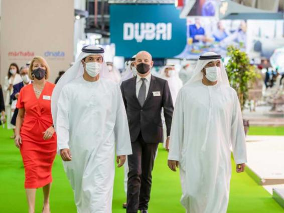 Ahmed bin Saeed opens Arabian Travel Market 2021