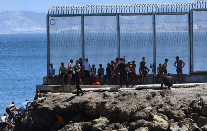 Thirty migrants reach Spain's Melilla enclave from Morocco