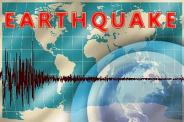 Two injured, buildings damaged as quake hits Indonesia's East Java