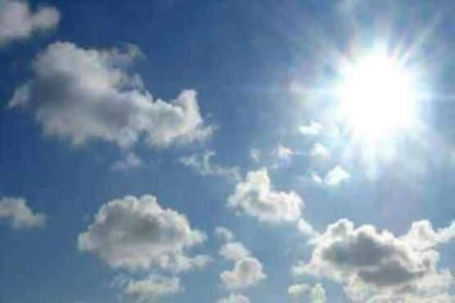 Hot , dry weather expected in city