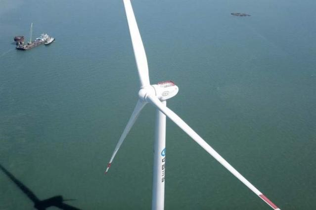 Offshore wind power connected to China's grid tops 10 mln kilowatts