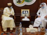 Al-Othaimeen Receives Guinea's Permanent Representative to the  ..