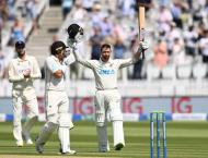 New Zealand's Conway joins Test debut 200 club