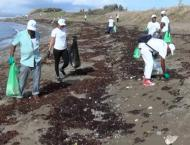 SEPA observes World Environment Day by cleaning up sea litter