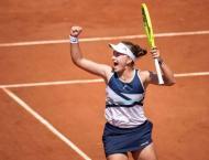 Krejcikova reaches first Grand Slam semi-final at French Open
