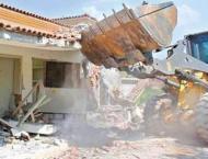 LDA demolishes various illegal structures