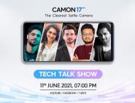TECNO to hold a Tech Talk Show for the launch of the Camon 17 ser ..
