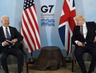 Biden Meets With UK Prime Minister Ahead of G7 Summit, Putin Meet ..