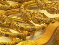 Gold prices increase by Rs 300 to Rs110,500 tola
