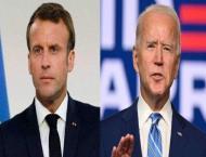 US President Biden Tells France's Macron That Washington, Paris ' ..