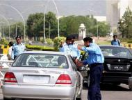 CTP check over speeding on city roads; 1330 challan slips issued  ..