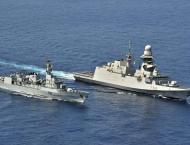 PNS SAIF participates in passade drill with Italian Navy Ship CAR ..