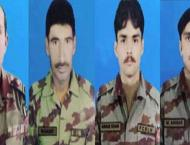 4 FC soldiers embrace martyrdom in IED attack