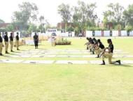 Passing out ceremony of 1163 constables held at Police Training S ..