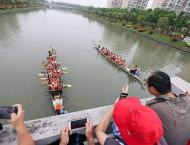 Red tourism flourishes during China's Dragon Boat Festival holida ..