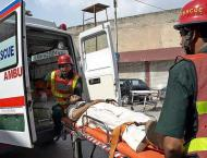 Man killed, wife injures in road accident