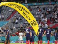 German police probe 'irresponsible' Greenpeace stunt at Euro matc ..