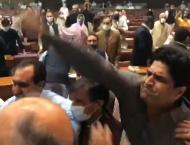 NA speaker suspends seven MNAs' membership over fight, abuses in  ..