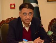 Opposition perturb from country's economic stability: Asad Umar