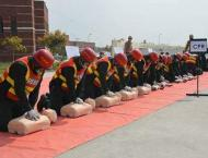 Development course concludes at Emergency services academy