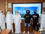 Real Madrid ace Marcelo visits Dubai Sports Council, discusses st ..