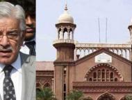 Lahore High Court adjourns hearing of Khawaja Asif's bail plea ti ..