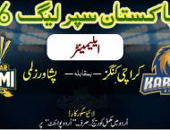 Today PSL 6 1st Eliminator Match Peshawar Zalmi Vs. Karachi Kings ..