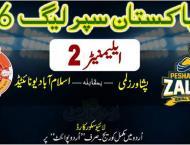 Today PSL 6 2nd Eliminator Match Islamabad United Vs. Peshawar Za ..