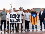 Catalan separatists leave prison after Spain pardon: AFP