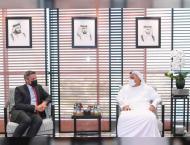 RTA Director meets new British Consul in Dubai