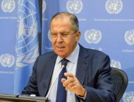 Lavrov Sees as Striking NATO, EU Reaction to Russia's Withdrawal  ..
