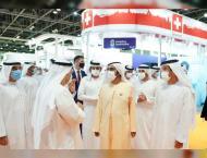 Mohammed bin Rashid visits Arab Health Exhibition 2021