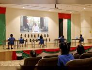Ras Al Khaimah Ruler shares video call message to first-grade  ..