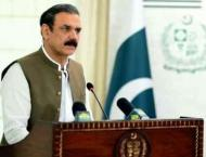 Chairman Senate called on Asim Bajwa to discuss ongoing CPEC proj ..
