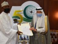 Al-Othaimeen Receives the Credentials of Nigeria's Permanent Re ..