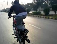One wheeling goes unchecked in Pindi