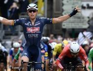 Falls again mar Tour de France as Merlier wins stage