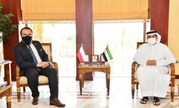 غرفة أبوظبي تبحث تعزيز التعاون التجاري ..