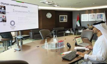 اللجنة الأولمبية تستعرض استعدادات المشاركة ..