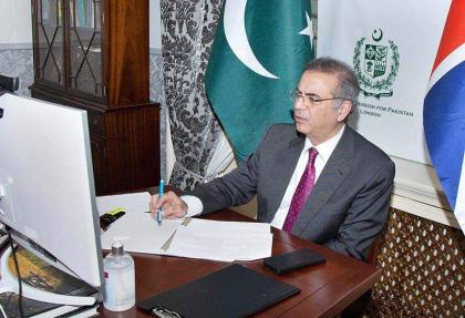 Pak High Commissioner UK holds virtual katchehry for community members