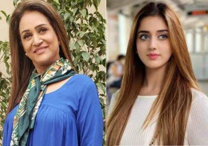 Jannat Mirza apologizes from veteran Bushra Ansari
