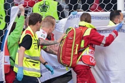 Eriksen 'awake' in hospital after Euro 2020 game collapse: Danish FA