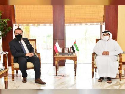 Abu Dhabi Chamber discusses boosting cooperation with Polish entrepreneurs