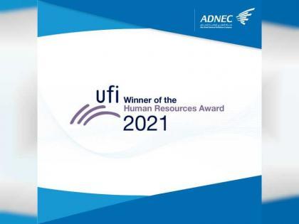 ADNEC wins 2021 UFI Human Resources Award