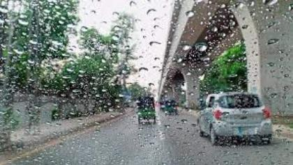 Rain forecast during next 24 hours