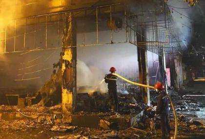 House fire kills six in central Vietnam