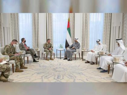 Mohamed bin Zayed receives US Commander of NATO's Resolute Support Mission in Afghanistan