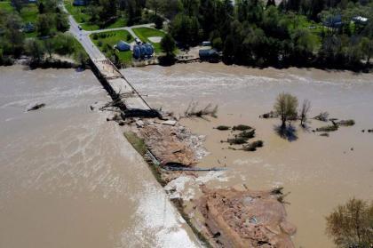 River in Crimea's Kerch Overflows Banks Flooding City Center - Mayor