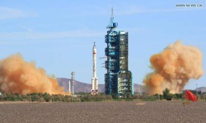 China launches first crew to live in core module of space station