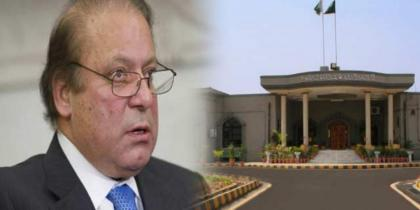 Islamabad High Court reserves decision on maintainability of appeals against Nawaz Sharif's property auction
